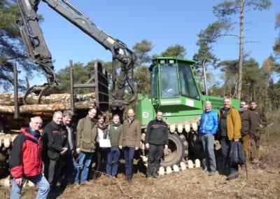 """Boden- und bestandesschonender Forstmaschineneinsatz im FFH-Gebiet """"Gehn"""""""