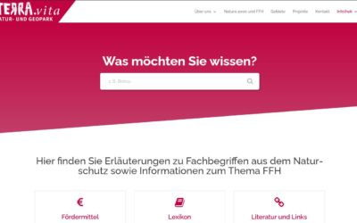 Erweiterung der Infothek um Informationen rund um die FFH-Managementplanung