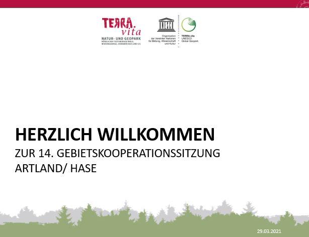 14. Sitzung der Gebietskooperationen — online