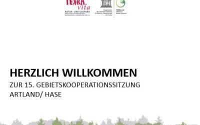 15. Sitzung der Gebietskooperationen — online